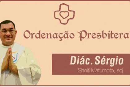 Ordenação Presbiteral do Diácono Sérgio Matsumoto (SCJ)