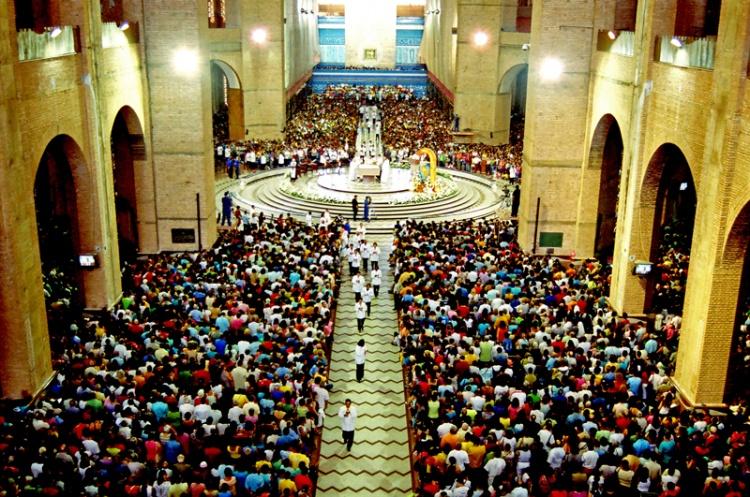 23ª Romaria da PANIB à APARECIDA, dia 7 de Agosto, Domingo