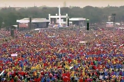 "Papa Francisco: ""Queridos jovens, finalmente nos encontramos!"""