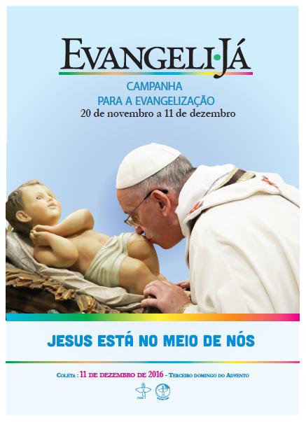 Campanha para a Evangelização reflete compromisso com a missão da Igreja