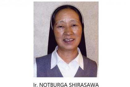 Irmã Notburga Shirasawa celebra 50 Anos de Vida Religiosa