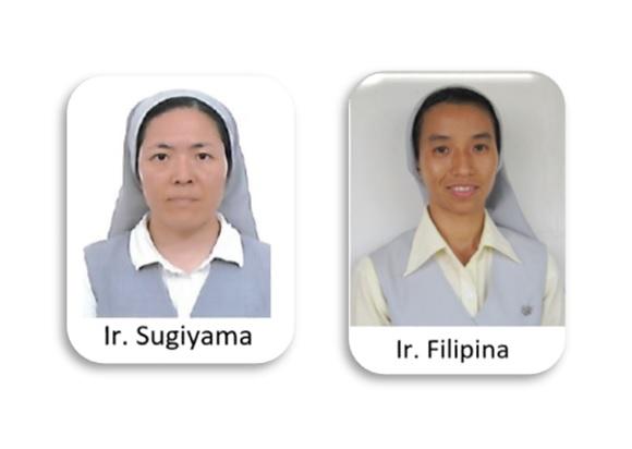 Duas Irmãs em trabalho missionário em Castanhal, Pará