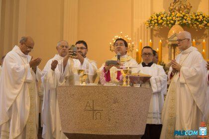 Dom Julio Endi Akamine toma posse como terceiro arcebispo metropolitano da Diocese de Sorocaba