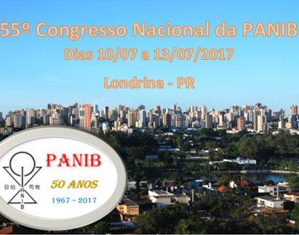 55º Congresso Nacional da PANIB, será em Londrina (PR)