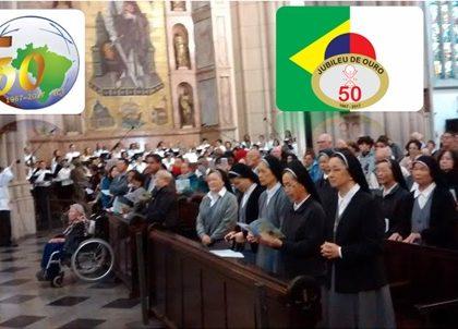 50 ANOS da Pastoral Nipo-Brasileira e da Congregação das Irmãs da Caridade de JESUS