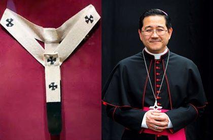 Imposição do pálio sobre Dom Júlio Endi Akamine, novo Arcebispo de Sorocaba