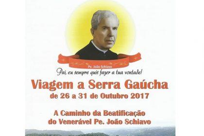 BEATIFICAÇÃO do Pe. JOÃO SCHIAVO será no dia 28 de outubro