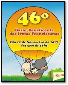 46º Bazar Beneficente das Irmãs Franciscanas de Jaraguá (SP)