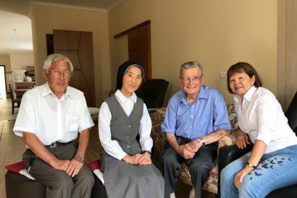 PANIB visita o Pe. Reynaldo Miguel, em Registro (SP)