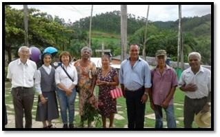 Representantes da PANIB visitam as Comunidades do Vale do Ribeira
