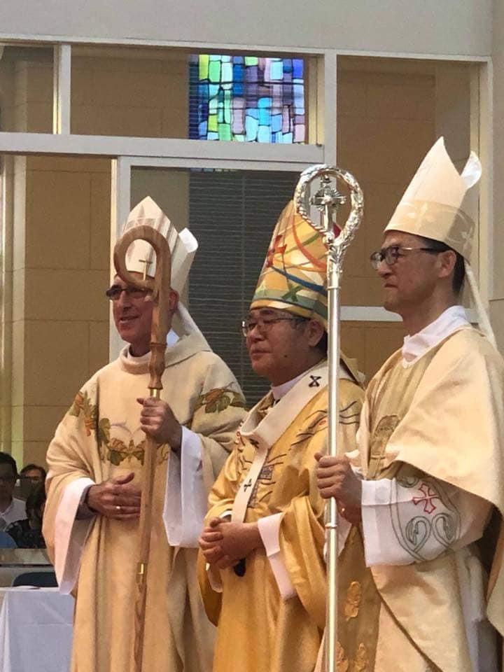 Dois novos Bispos para o Japão - Arquidiocese de Osaka.