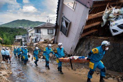 O pesar do Papa pelas vítimas das enchentes no Japão