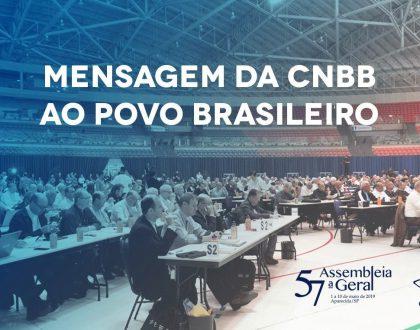 Mensagem da CNBB ao povo brasileiro