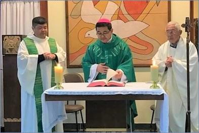 Dom Julio Endi Akamine celebrou o oitavo aniversário de Ordenação Episcopal