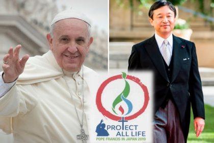 Papa Francisco visitará Japão em novembro