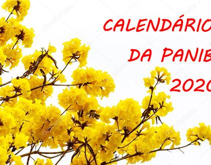 Calendário da PANIB 2020 ficou pronto!