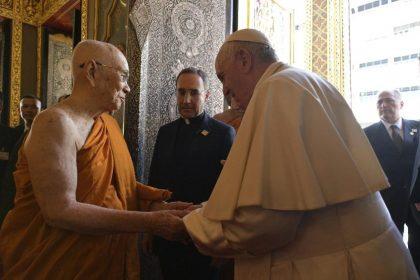 Tailândia: Papa visita o Patriarca Supremo dos budistas