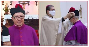 Apresentação do Monsenhor Nobuo Sano à Comunidade