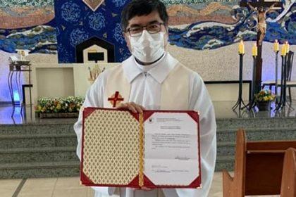 Monsenhor Hélio Takemi Sakamoto é designado como Vigário Judicial e Presidente do Tribunal Eclesiástico da Arquidiocese de Maringá (PR)